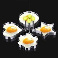 Be Stainless Steel Pancake Mould Mold Ring Cooking Fried Egg Shaper Kitchen Tool