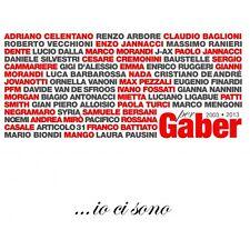 CD 50 ARTISTI PER GABER IO CI SONO- 3 CD NUOVO SIGILLATO- 8033954532015