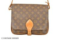 Louis Vuitton Monogram Cartouchiere GM Shoulder Bag M51252 - YG01120