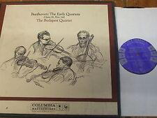M3L 262 Beethoven String Quartets Op. 18 / Budapest Quartet 3 LP box