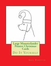 Large Munsterlander Pointer Christmas Cards: Do It Yourself