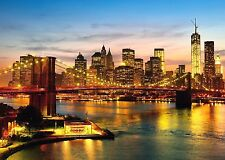 New York Schmidt Jigsaw Puzzle 2000 Piezas New York De Noche Rompecabezas 58189