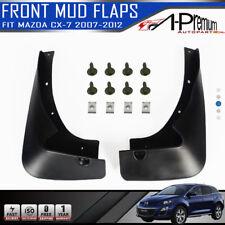 Front Mud Flaps Splash Guards for Mazda CX-7 CX7 2007 2008 2009 2010 2011 2012