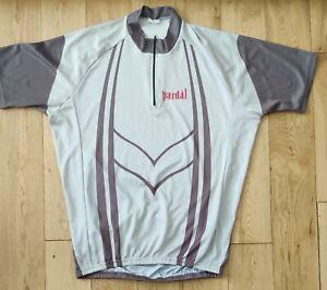 Pardal Short Sleeve Cycling Jersey Size XXL. Silver Grey