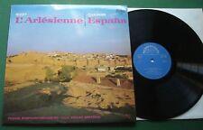 Bizet L'Arlesienne / Chabrier Espana Prague S/O Smetacek Supraphon 1 10 0694 LP