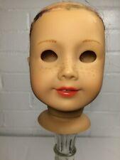 Mia American Girl Doll Head Only Light Skin Classic Mold Freckles Pierced Ears