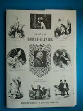 Les cent et un  Robert Macaire - Dessins de DAUMIER - Ed limité Diosco (1984)