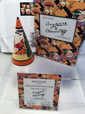 Clarice Cliff Wedgwood Ltd Ed of 500  - Trees & House Conical Sugar Shaker
