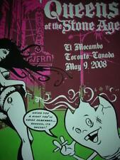 Queens of the Stone Age Simon Paul Qotsa 2008 Silkscreen Print Concert Poster