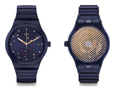 Swatch Sistem Sea Flex Large Automatic SUTN403A Analog Stainless Steel Dark blue