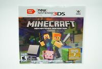 Minecraft New  Edition: NEW Nintendo 3DS [Factory Refurbished] NOT Regular 3DS
