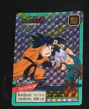 DRAGON BALL Z DBZ SUPER BATTLE PART 11 CARD DOUBLE PRISM CARTE 452 JAPAN 1994 NM
