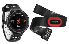 Garmin Forerunner 630 Touchscreen GPS Running Watch Black and White Bundle