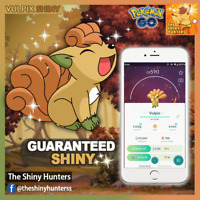 Pokémon GO ✨Shiny Vulpix (Kanto)✨ GUARANTEED CAPTURE - Ninetales Pre-Evolution
