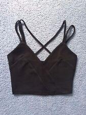 Ally Fashion black crop top size XS