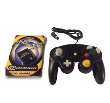 For Ngc GameCube Controller + 32Mb Memory Card for Nintendo Wii Game Console Gc