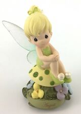 Precious Moments Disney Showcase Collection  August Fairy As Tinker Bell Resin