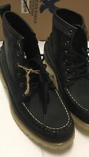 NWB American Eagle Outfitters Mens Boots Matte Black Textured Leather US11