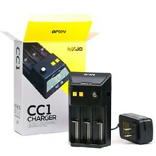 MXJO CC1 LCD 3-bay universal battery charger for 18650 18500 18350 26650 14500