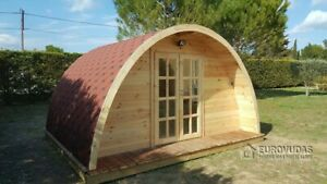 Camping POD 4 x 4 m /44 mm walls/ FREE DELIVERY*