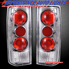 1985-2005 GMC CHEVY ASTRO VAN SAFARI ALTEZZA STYLE TAIL LIGHTS CHROME PAIR