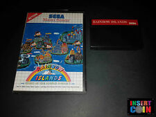 Game sega master system rainbow islands (cover is copy!) read/read!