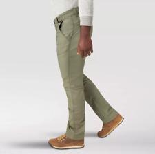 Men's Wrangler NWT ATG All Terrain Gear Utility Pants Straight Stretch Green