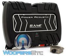 POWER ACOUSTIK BAMF1-3000D MONOBLOCK 3000W SUBWOOFERS BASS SPEAKERS AMPLIFIER