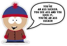 "South Park Stan sticker decal 5"" x 3"""