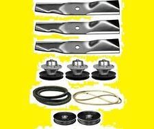 "Mower Deck Rebuild Kit Fits 54""John Deere LX288 GT235 Blades Spindles Belts(127)"