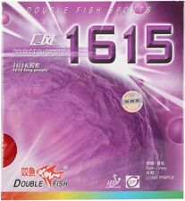 Double Fish 1615 Long Pips Out Table Tennis Rubber with Sponge, NEW, USD