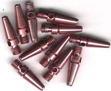 .75in. 2ba Pink Aluminum Dart Shafts: 3 per set