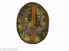 Patch Militare 9 Col Moschin FERT Folgore Esercito Cordura Mimetica Vegetata Des