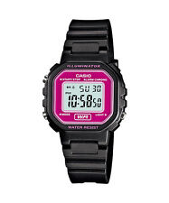 LA-20WH-4A Brand-New Casio Watch Ladies Stopwatch Led Light Digital Resin Band