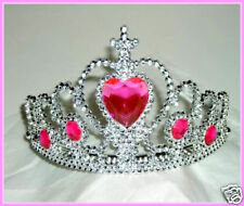SILVER HEART STONE CROWN~*~FAIRY PRINCESS