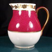 Wedgwood Whitehall Powder Ruby 1 Pint Jug - W3994 - 1st Quality