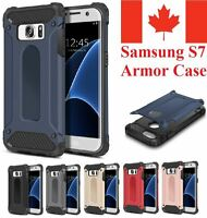 For Samsung Galaxy S7 Case - Heavy Duty Dual Layer Hybrid Shockproof Armor Cover