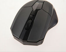 DI 2.4 GHz Wireless Optical Mouse Mice + USB 2.0 Receiver for PC Laptop Black