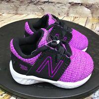 New Balance Baby Infant Fresh Foam Vero Racer V1 Bungee Running Shoe Size 2 Wide