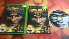 COMMANDOS 2 XBOX ENVÍO 24/48H EN CAJA BOXED