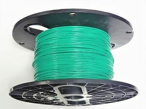 25 FT 16 GAUGE GREEN PRIMARY WIRE AWG STRANDED PURE COPPER POWER REMOTE MTW