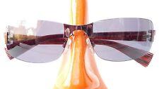 Rodenstock Lunettes de Soleil Gris Brun Sport Sombre Courbé Steckbügel TAILLE M
