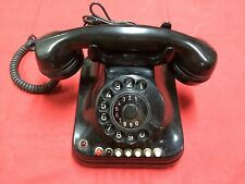 RARE FAMOUS PUPIN BAKELITE TELEPHONE MANUAL ANTIQUE PHONE WW2 WW1 SUPER RARE