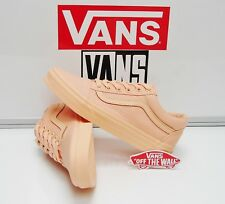 Vans Old Skool Mono Canvas Apricot Ice VN0A38G1OYV Women's Size: 5.5
