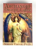 Archangel Oracle Cards Doreen Virtue 45 Card Deck and 80 Pg Guidebook Spiritual
