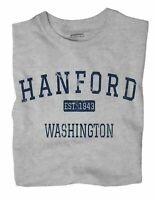 Hanford Washington WA T-Shirt EST