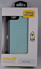 NEW Open! Otterbox Defender Series W/ Belt Clip for iPhone 6 / 6s - Moroccan Sky