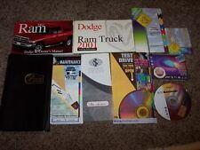 2001 Dodge Ram Truck Owner Operator Manual ST STL Work 3.9L 5.2L 5.9L V6 V8