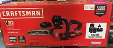 """CRAFTSMAN 20V Max Lithium Ion 12"""" Cordless Compact Chainsaw"""