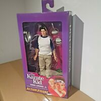 """NECA THE KARATE KID DANIEL LARUSSO 8"""" INCH CLOTHED ACTION FIGURE RETRO DOLL NEW"""
